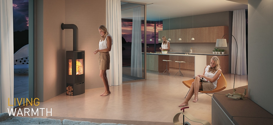 Whether you use pellets or logs the new generation of wood-burning ...